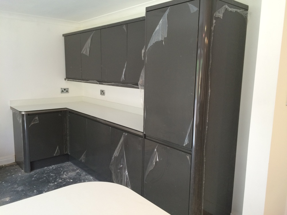 Gallery a j henning joinery for Fitted kitchen cupboards